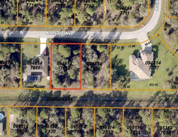 lot 10 Abesaid Avenue, North Port, FL 34291 (MLS #C7429218) :: Prestige Home Realty