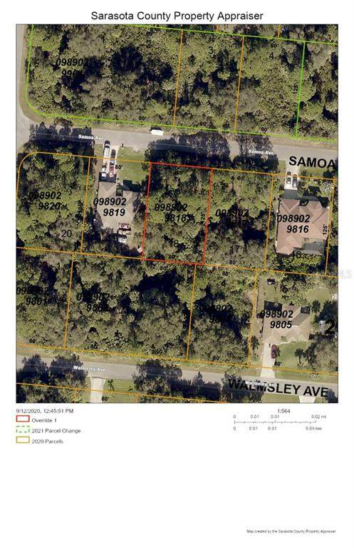 Samoa Avenue, North Port, FL 34287 (MLS #C7433125) :: Rabell Realty Group