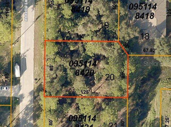 Lot 20 Abdella Lane, North Port, FL 34291 (MLS #C7434168) :: Griffin Group