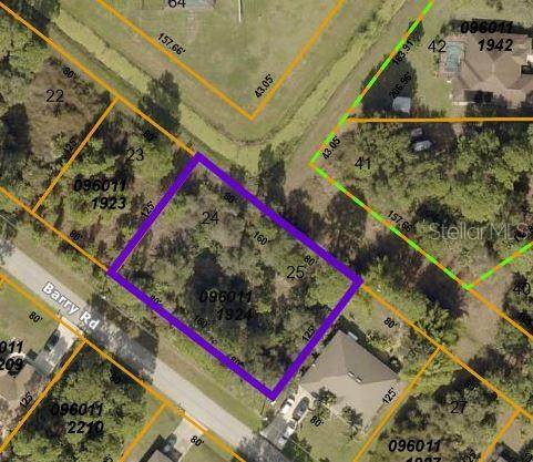 Lot 24 & 25 Barry Road, North Port, FL 34286 (MLS #C7441706) :: Pepine Realty
