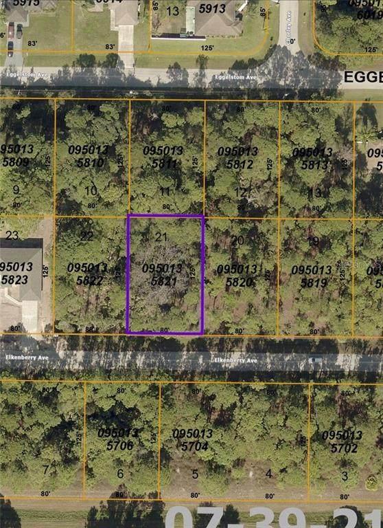 Elkenberry Avenue, North Port, FL 34291 (MLS #C7441716) :: RE/MAX Local Expert