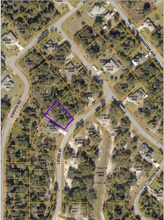 Levee Street, North Port, FL 34288 (MLS #C7441745) :: Premier Home Experts