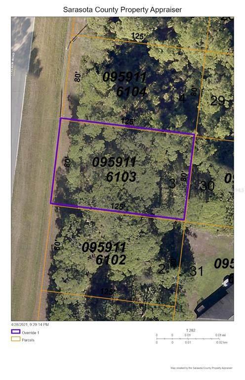 N Chamberlain Boulevard, North Port, FL 34286 (MLS #C7442503) :: Southern Associates Realty LLC