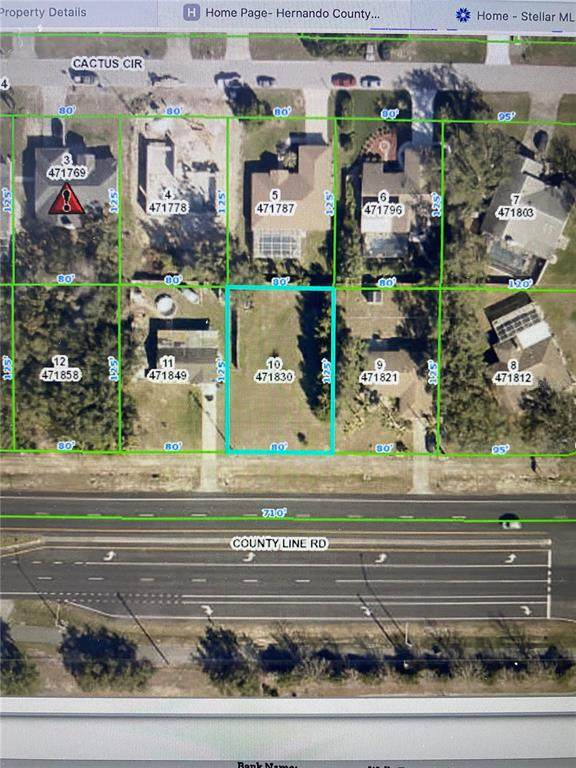 5453 County Line Road, Spring Hill, FL 34606 (MLS #C7443008) :: Southern Associates Realty LLC