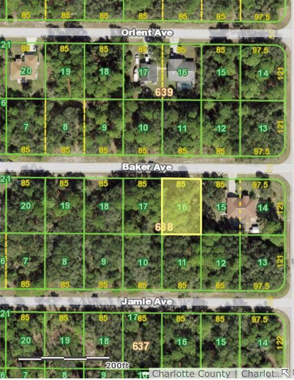 17153 Baker Avenue, Port Charlotte, FL 33948 (MLS #C7444676) :: Everlane Realty