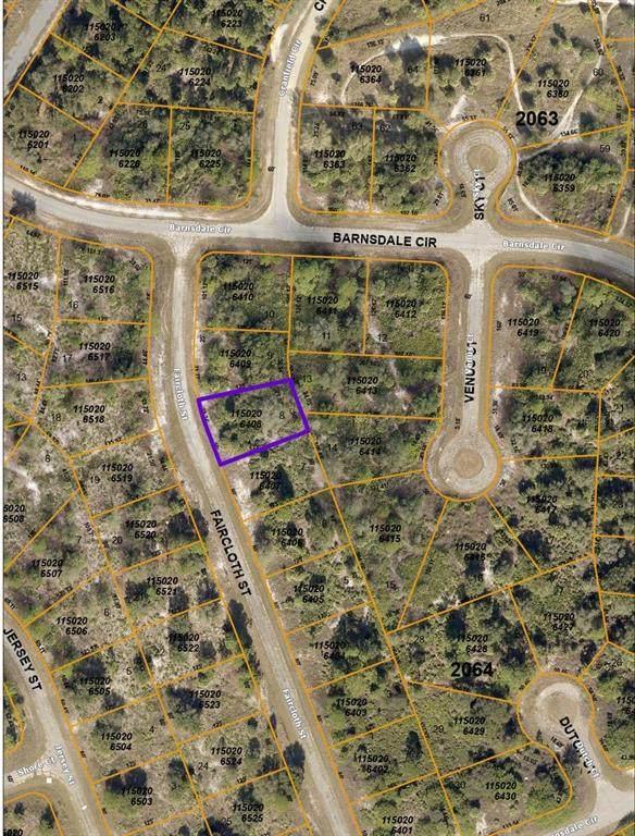 Faircloth Street, North Port, FL 34288 (MLS #C7446783) :: Gate Arty & the Group - Keller Williams Realty Smart
