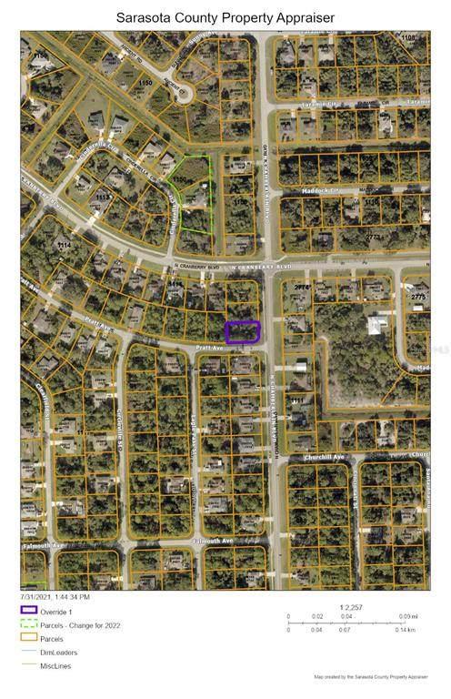 Pratt Avenue, North Port, FL 34286 (MLS #C7446886) :: Gate Arty & the Group - Keller Williams Realty Smart