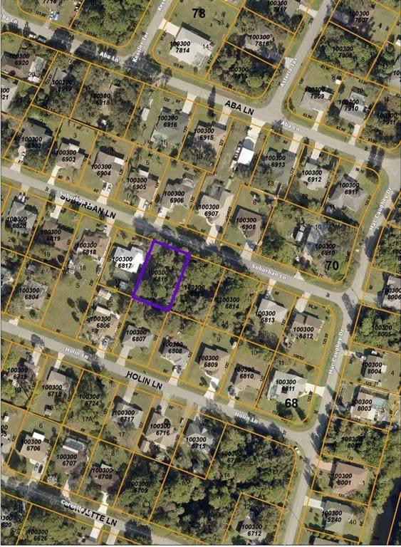 Suburban Lane, North Port, FL 34287 (MLS #C7447915) :: Team Turner