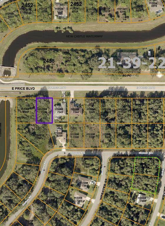 E Price Boulevard, North Port, FL 34288 (MLS #C7447960) :: Gate Arty & the Group - Keller Williams Realty Smart