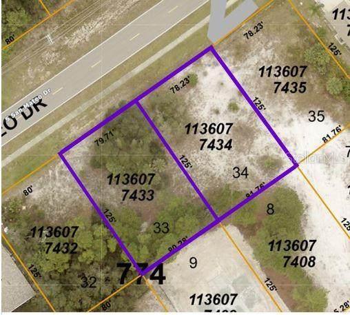 Lots 33 & 34 San Mateo Drive, North Port, FL 34288 (MLS #C7448382) :: Team Turner