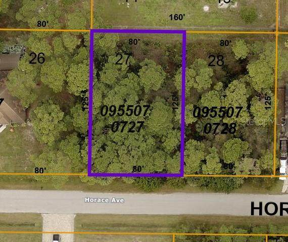 Horace Avenue, North Port, FL 34286 (MLS #C7450483) :: Keller Williams Realty Peace River Partners