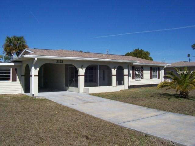 2391 Ivanhoe Street, Port Charlotte, FL 33952 (MLS #D6100123) :: Medway Realty