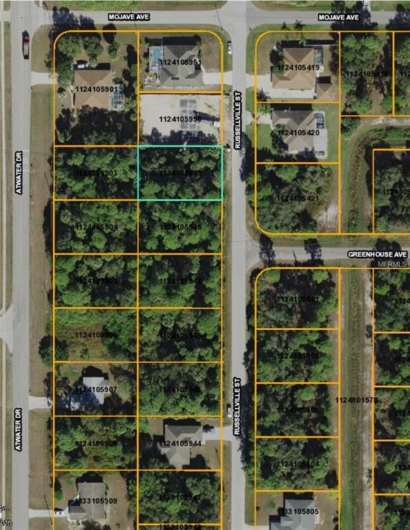 Russellville Street, North Port, FL 34288 (MLS #D6100196) :: RE/MAX Realtec Group