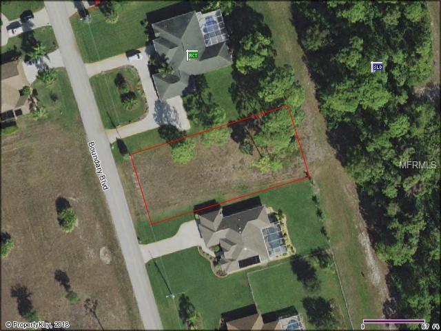 823 Boundary Boulevard, Rotonda West, FL 33947 (MLS #D6101350) :: Premium Properties Real Estate Services