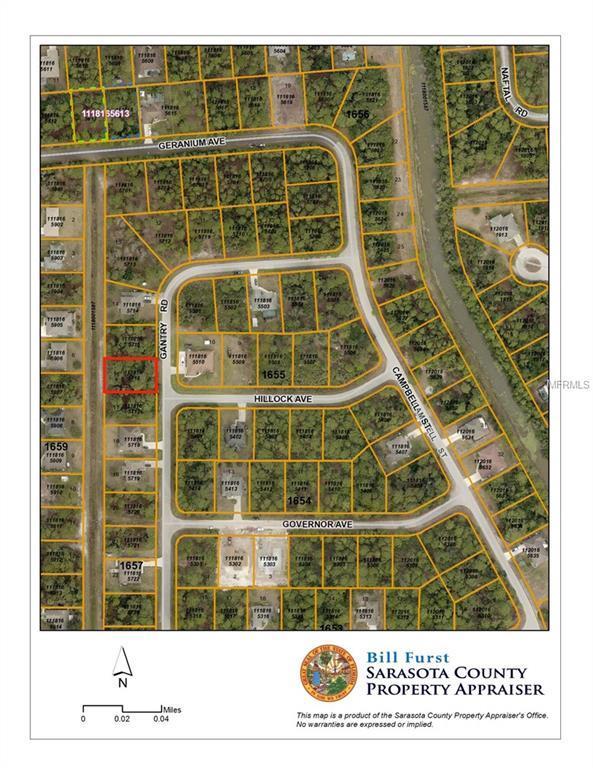 Gantry Road, North Port, FL 34288 (MLS #D6101834) :: G World Properties