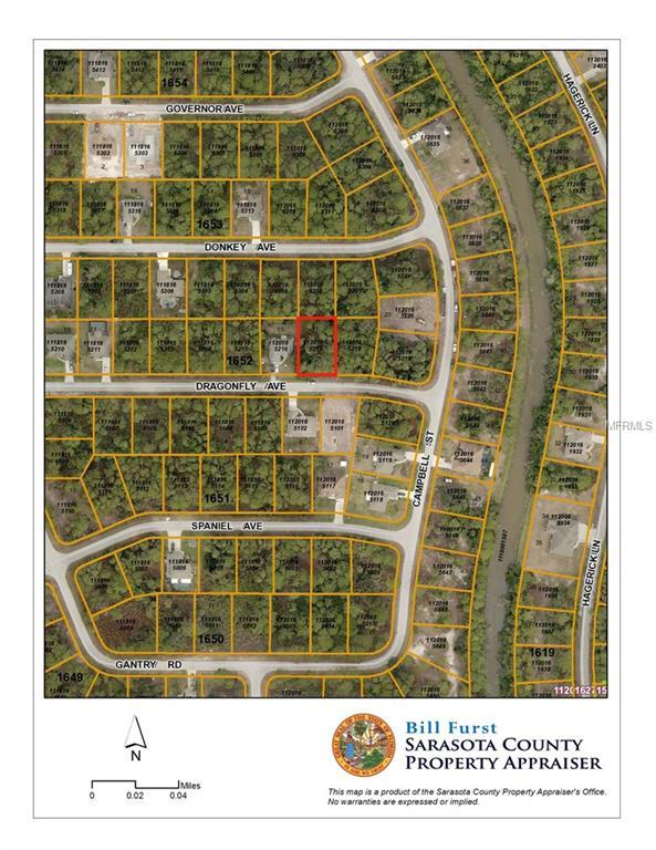 Dragonfly Avenue, North Port, FL 34288 (MLS #D6101837) :: Medway Realty