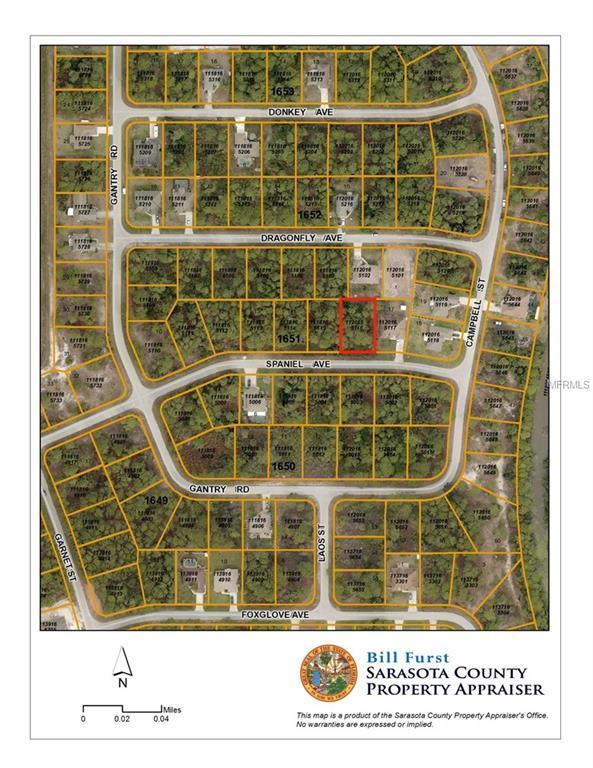 Spaniel Avenue, North Port, FL 34288 (MLS #D6101838) :: G World Properties
