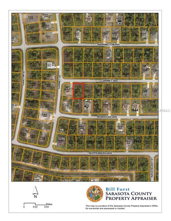 Clarinet Avenue, North Port, FL 34288 (MLS #D6101856) :: G World Properties