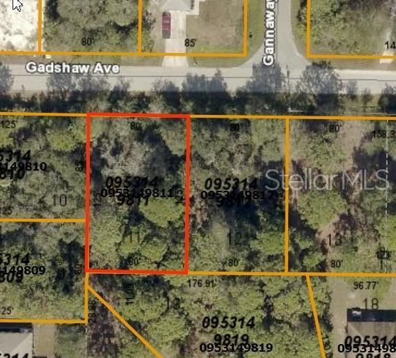 Gadshaw Avenue, North Port, FL 34291 (MLS #D6107444) :: Dalton Wade Real Estate Group