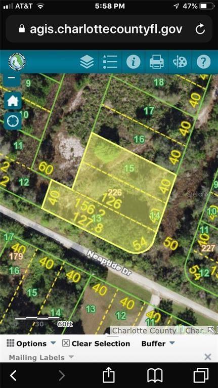 Address Not Published, Punta Gorda, FL 33983 (MLS #D6112323) :: Florida Real Estate Sellers at Keller Williams Realty