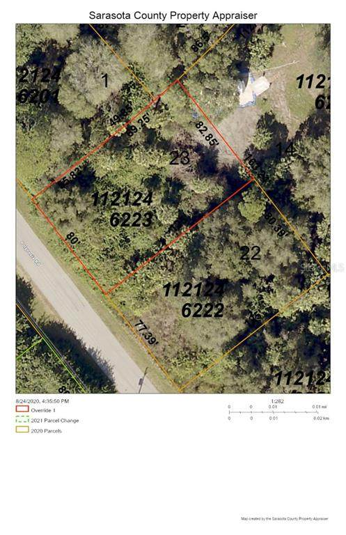 Polynesia Road, North Port, FL 34288 (MLS #D6113570) :: Rabell Realty Group