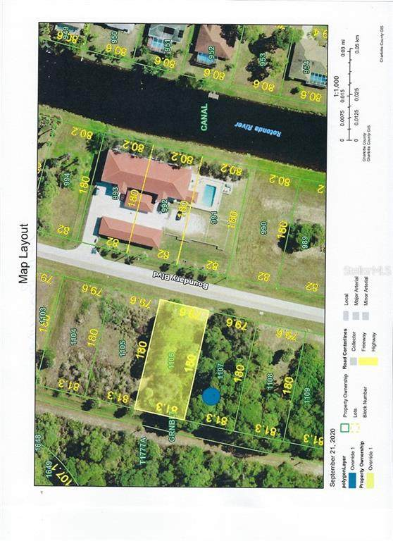 241 Boundary Boulevard, Rotonda West, FL 33947 (MLS #D6114044) :: The Paxton Group
