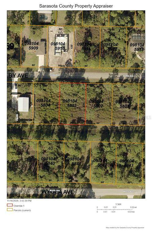 Trilby Avenue, North Port, FL 34286 (MLS #D6114947) :: Sarasota Gulf Coast Realtors