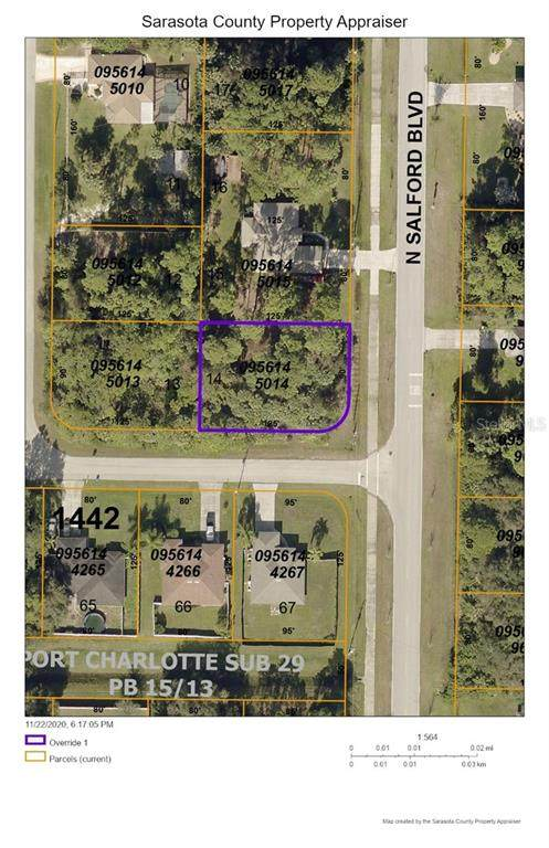 N Salford Boulevard, North Port, FL 34286 (MLS #D6115025) :: Delgado Home Team at Keller Williams