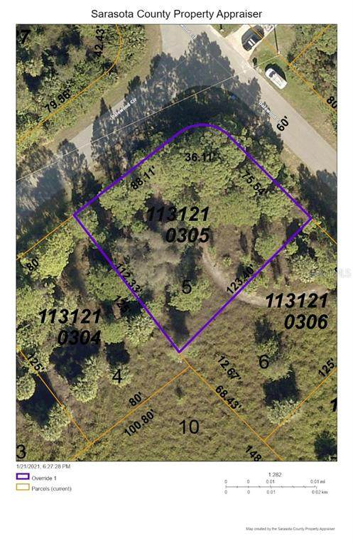 Lot 5 Dalewood Circle, North Port, FL 34288 (MLS #D6116139) :: Medway Realty