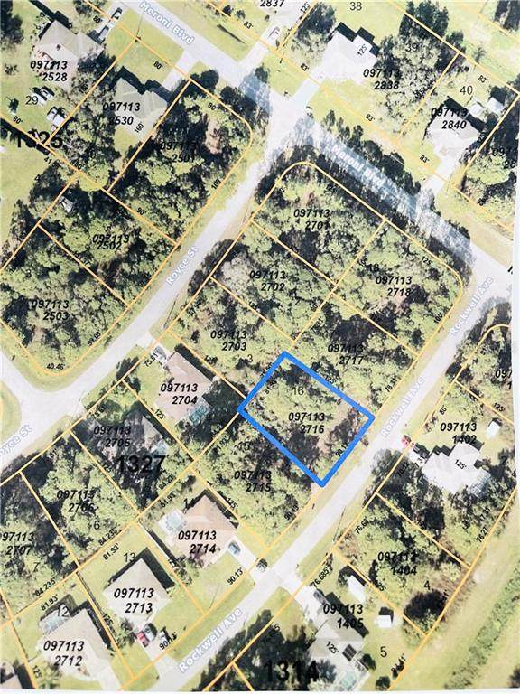 Rockwell Avenue, North Port, FL 34291 (MLS #D6117911) :: Frankenstein Home Team