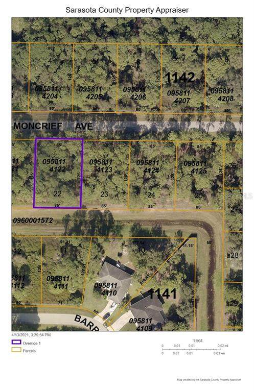 Moncrief Avenue, North Port, FL 34286 (MLS #D6117918) :: Frankenstein Home Team