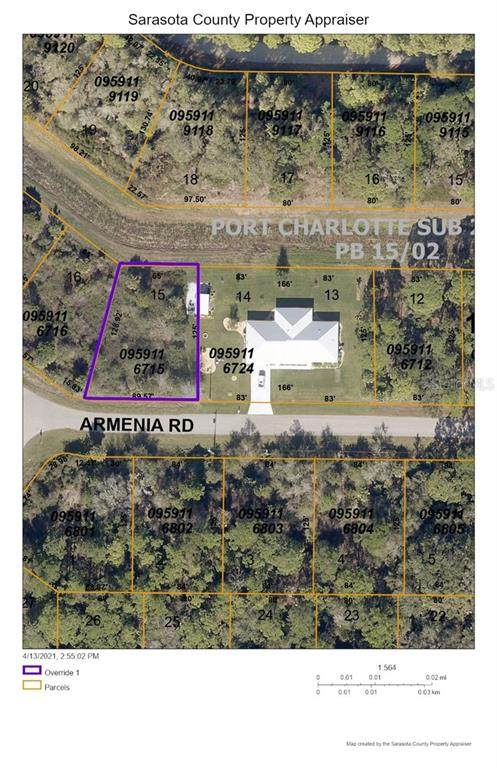 Armenia Road, North Port, FL 34286 (MLS #D6117919) :: Frankenstein Home Team