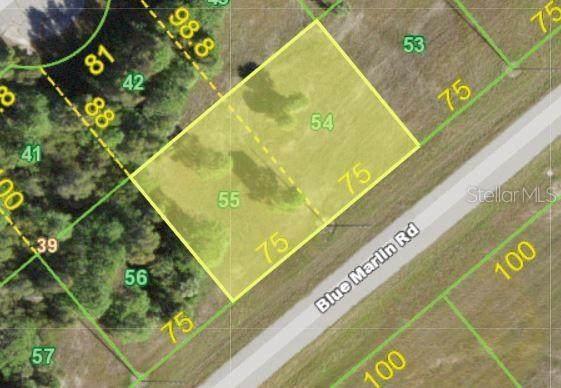 14262 & 14270 Blue Marlin Road, Placida, FL 33946 (MLS #D6118566) :: The Kardosh Team