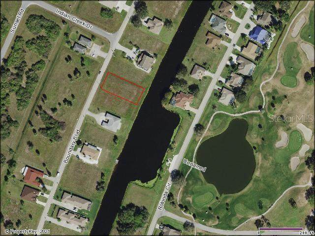 286 Boundary Boulevard, Rotonda West, FL 33947 (MLS #D6119457) :: The Hesse Team