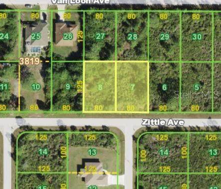 12130 & 12138 Zittle Avenue, Port Charlotte, FL 33981 (MLS #D6119566) :: The BRC Group, LLC