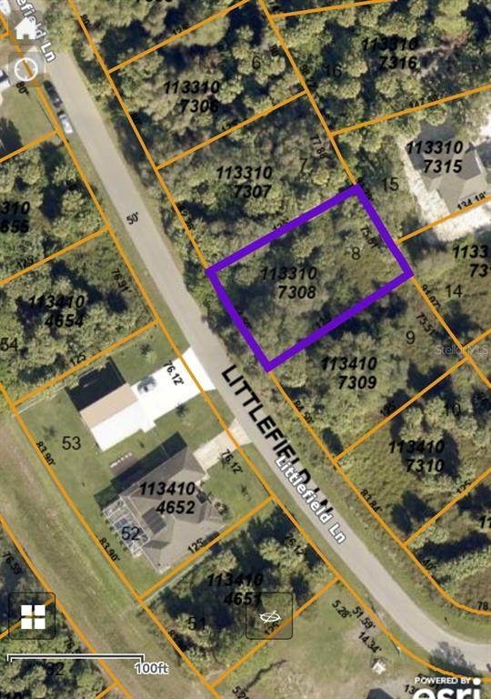 LOT8 Littlefield Lane, North Port, FL 34288 (MLS #D6120220) :: Cartwright Realty