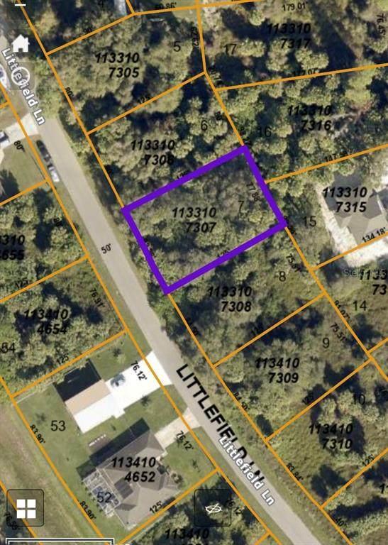 LOT7 Littlefield Lane, North Port, FL 34288 (MLS #D6120224) :: Cartwright Realty