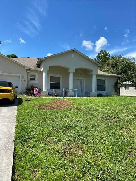 4033 Pesola Terrace, North Port, FL 34286 (MLS #D6121624) :: Delgado Home Team at Keller Williams