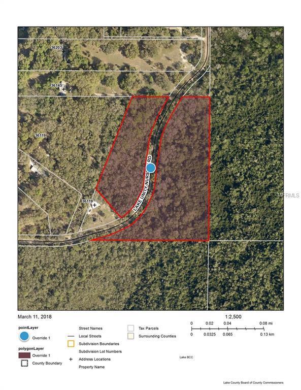 Lake Unity Nursery Road, Fruitland Park, FL 34731 (MLS #G4854032) :: Premium Properties Real Estate Services