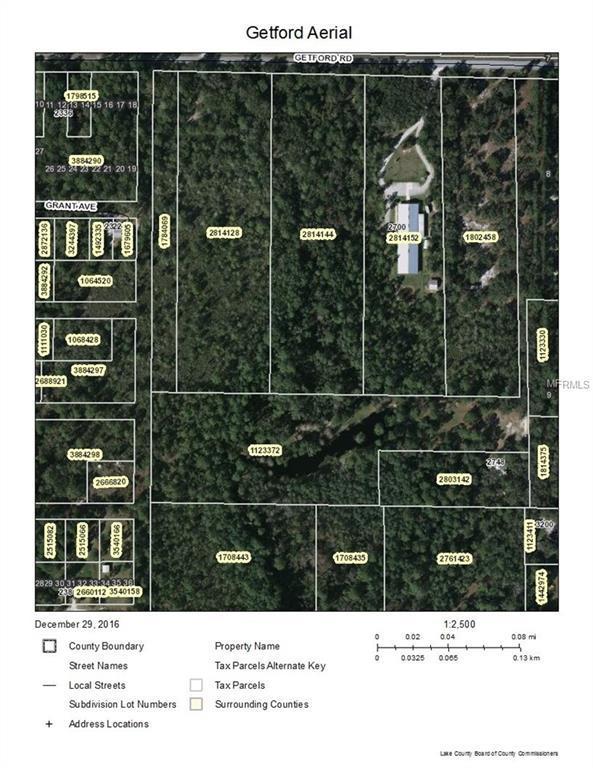 Getford Road, Eustis, FL 32736 (MLS #G5005909) :: KELLER WILLIAMS CLASSIC VI