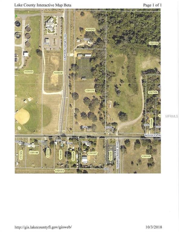 2450 Woodlea Road, Tavares, FL 32778 (MLS #G5006858) :: Delgado Home Team at Keller Williams