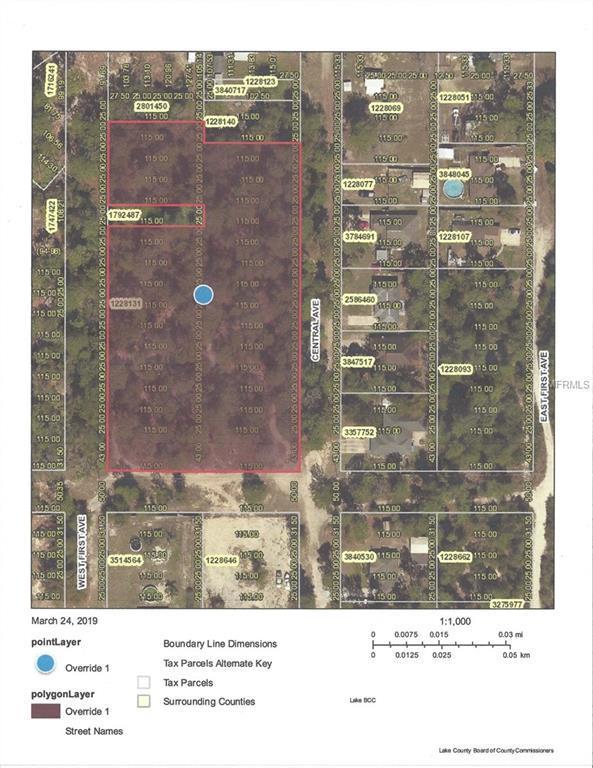 Central Avenue, Umatilla, FL 32784 (MLS #G5013686) :: Delgado Home Team at Keller Williams