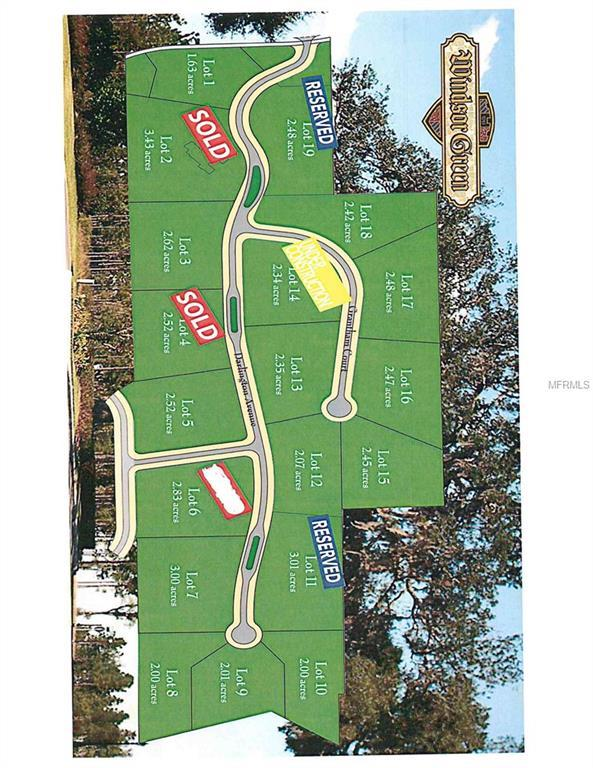 GRANTHAN Grantham Court Lot 16, Lady Lake, FL 32159 (MLS #G5015353) :: The Duncan Duo Team