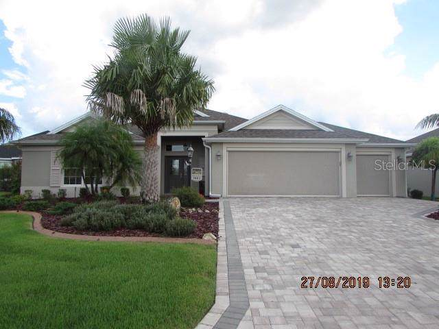 3403 Boardroom Trail, The Villages, FL 32163 (MLS #G5019883) :: Realty Executives in The Villages