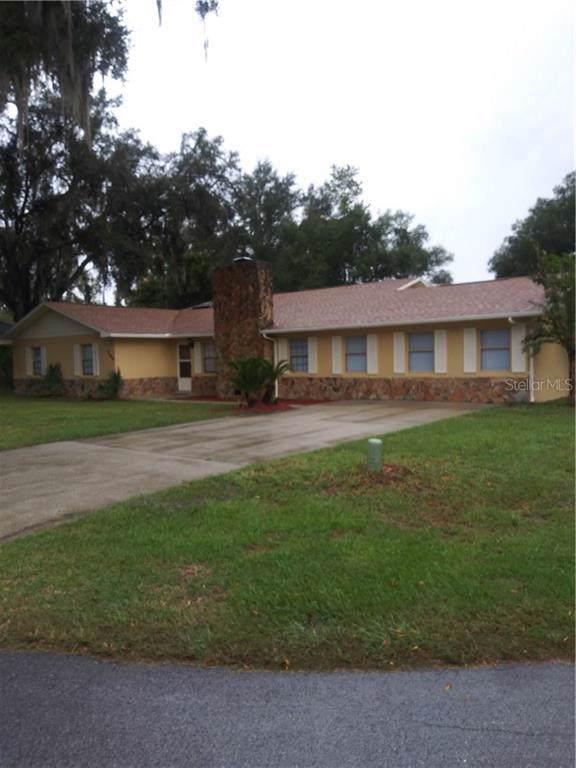 284 NE 1ST Street, Webster, FL 33597 (MLS #G5021456) :: 54 Realty