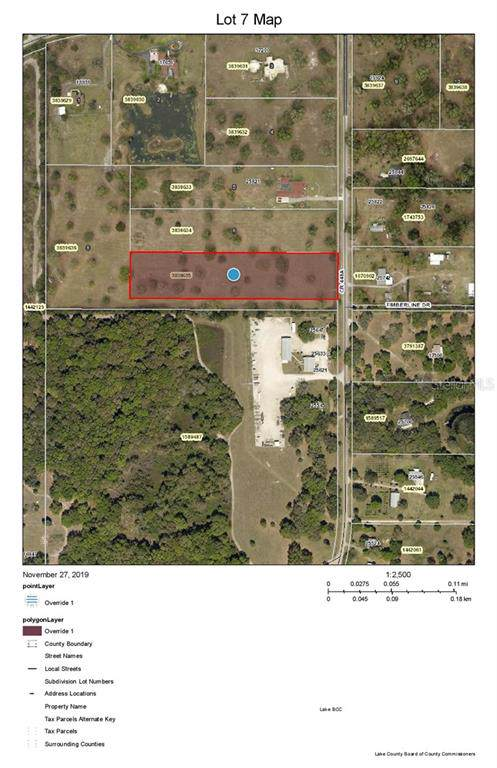 County Road 448A, Mount Dora, FL 32757 (MLS #G5023423) :: Baird Realty Group