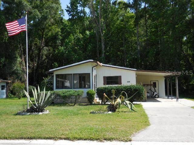 106 Oak Boulevard, Wildwood, FL 34785 (MLS #G5029327) :: Griffin Group