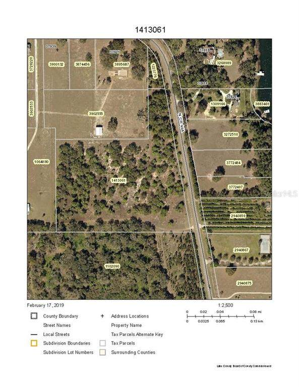 N County Road 44A, Eustis, FL 32736 (MLS #G5034641) :: Delgado Home Team at Keller Williams