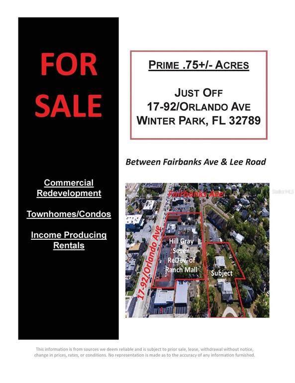 xxx Fairview & Grove Avenue, Winter Park, FL 32789 (MLS #G5046881) :: Griffin Group