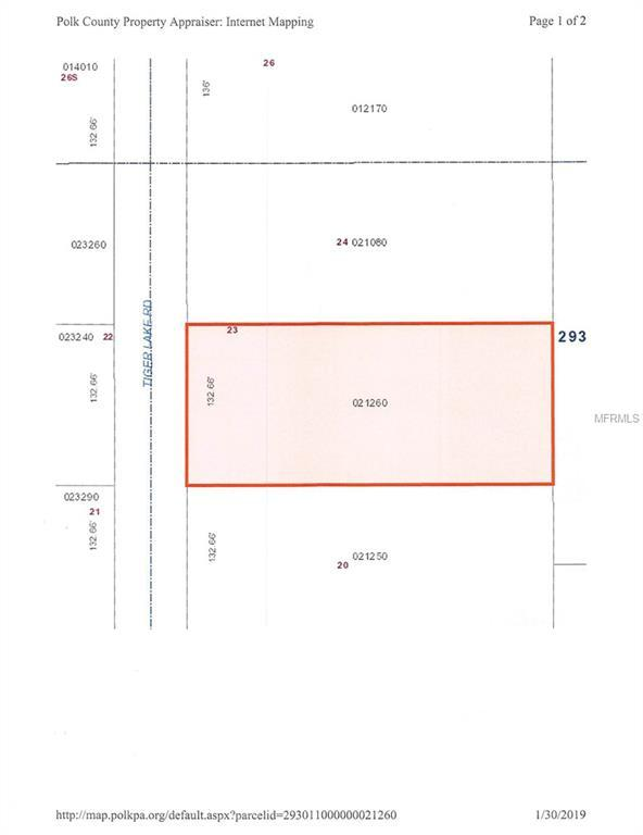 0 Tiger Lake Road, Lake Wales, FL 33898 (MLS #K4900350) :: Zarghami Group